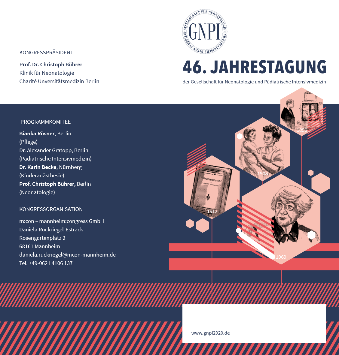 Die 46. Jahrestagung findet vom 17. - 19. November in Mannheim statt.